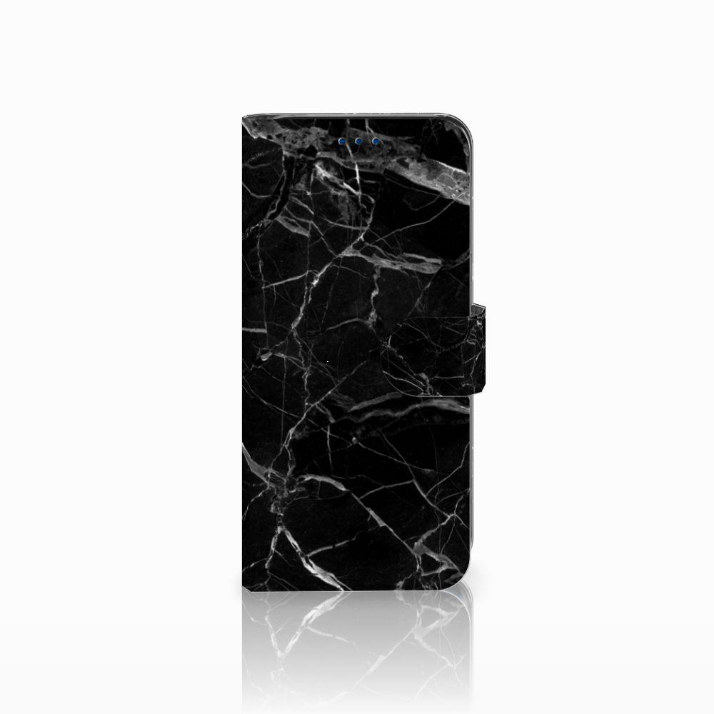 Samsung Galaxy S8 Uniek Boekhoesje Marmer Zwart