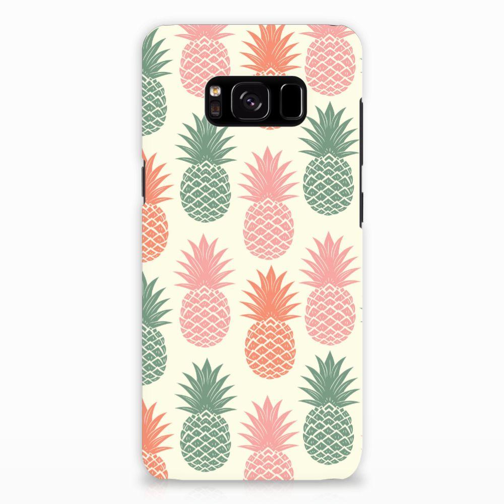 Samsung Galaxy S8 Hardcase Hoesje Design Ananas