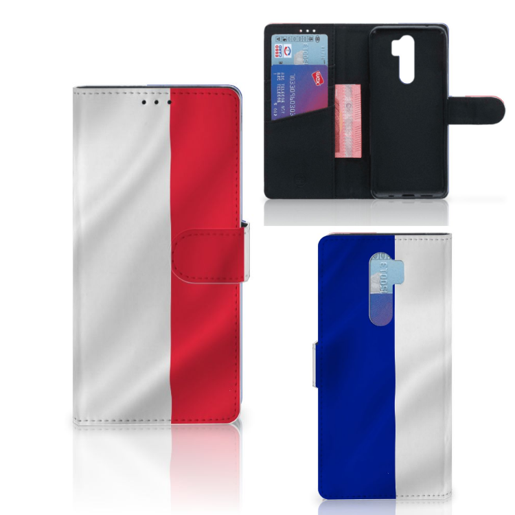 Xiaomi Note 8 Pro Bookstyle Case Frankrijk