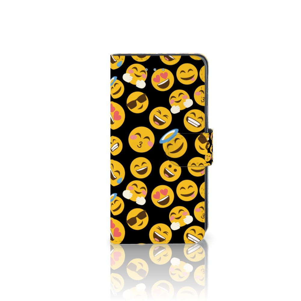 Samsung Galaxy J3 2016 Boekhoesje Design Emoji