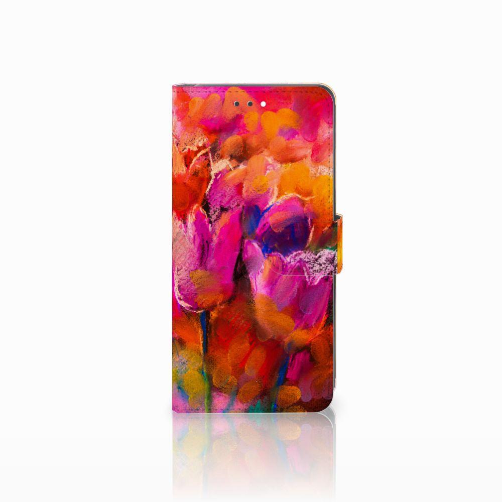 Hoesje Huawei Y7 2018 Tulips