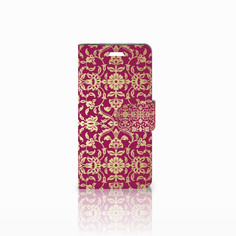 Acer Liquid Z330 Boekhoesje Design Barok Pink