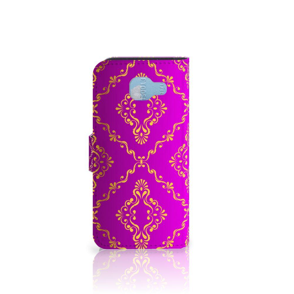Wallet Case Samsung Galaxy A5 2016 Barok Roze
