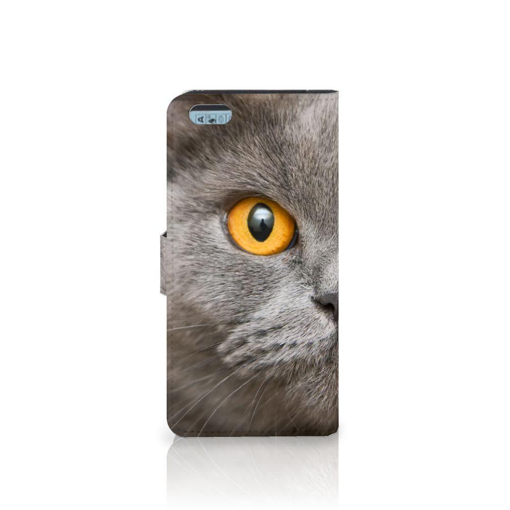Telefoonhoesje met Pasjes Apple iPhone 6 Plus   6s Plus Britse Korthaar