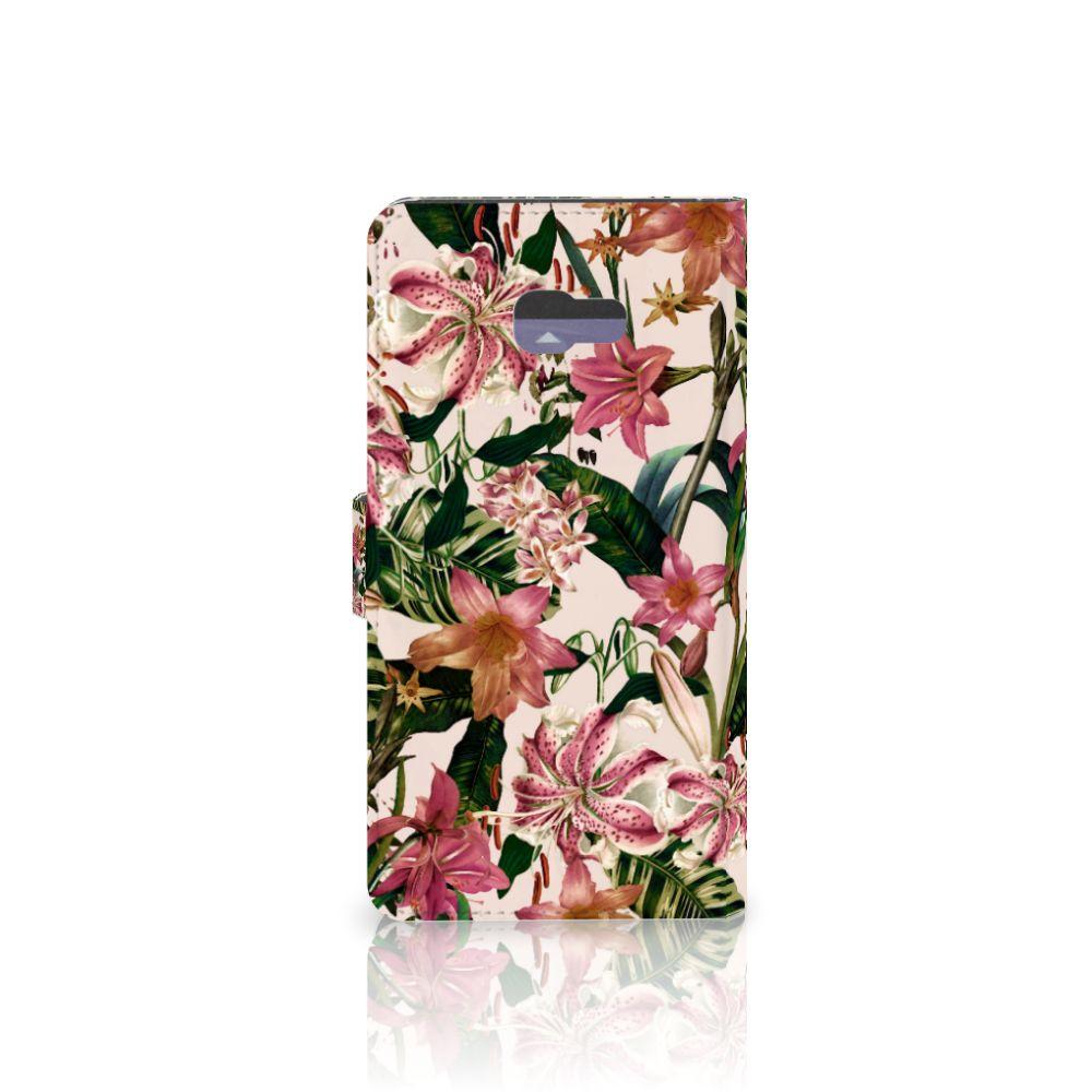 Samsung Galaxy A7 2017 Hoesje Flowers