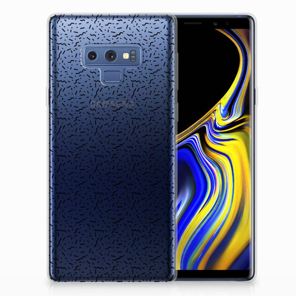 Samsung Galaxy Note 9 TPU bumper Stripes Dots