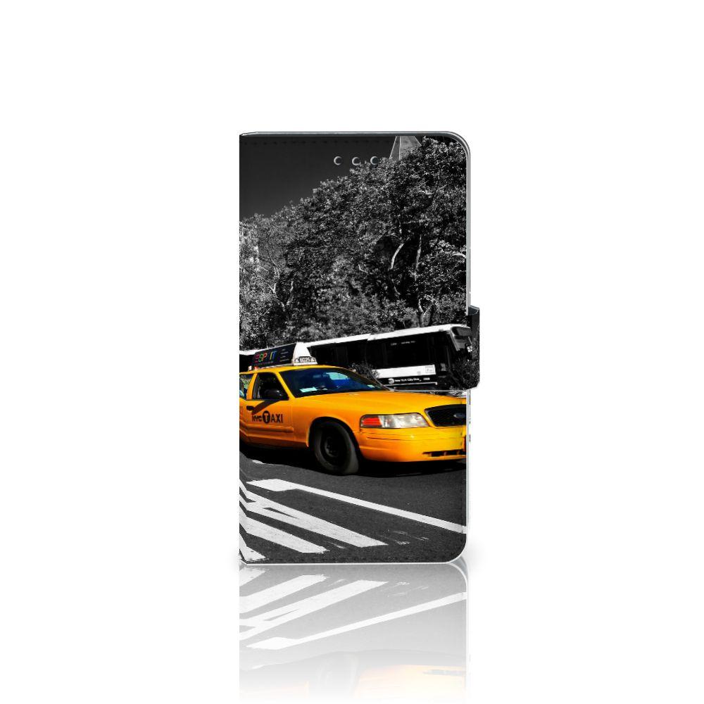 Samsung Galaxy J7 2017   J7 Pro Boekhoesje Design New York Taxi
