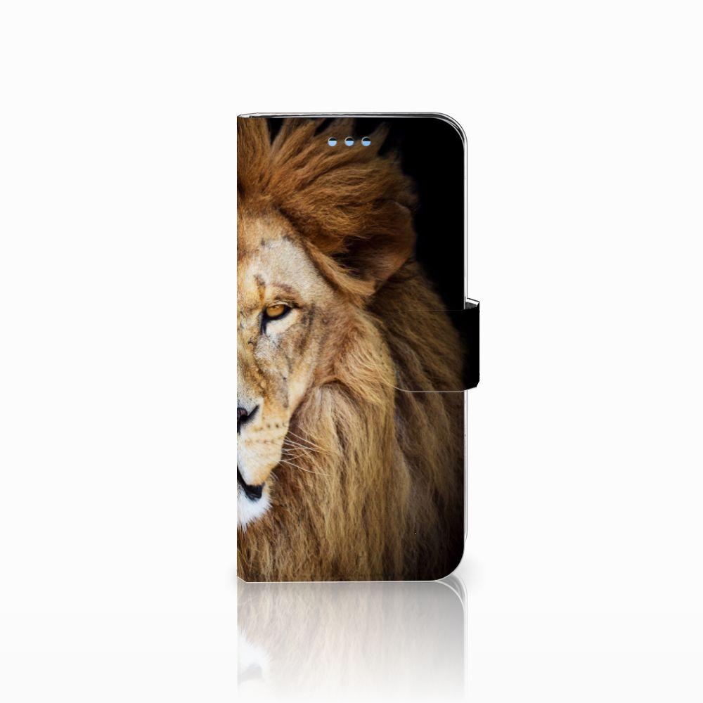 Samsung Galaxy S9 Boekhoesje Design Leeuw