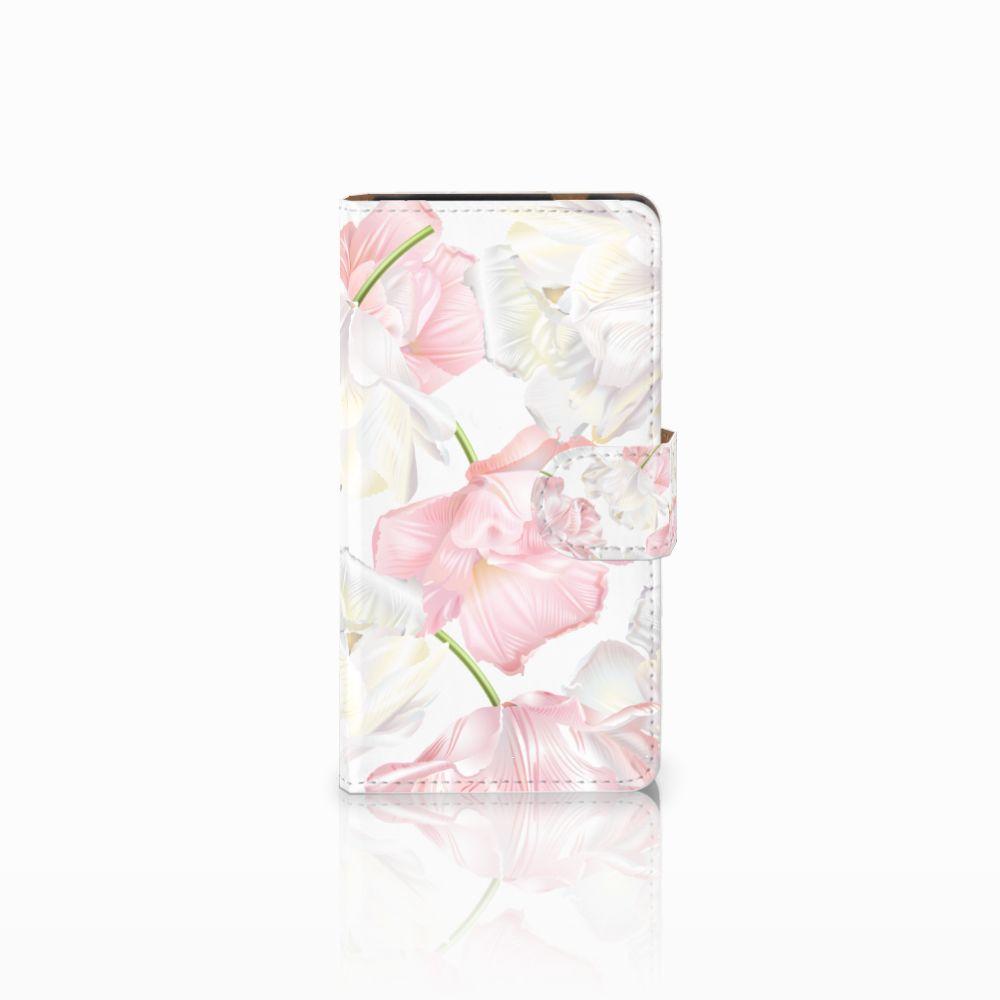 HTC Desire 601 Boekhoesje Design Lovely Flowers