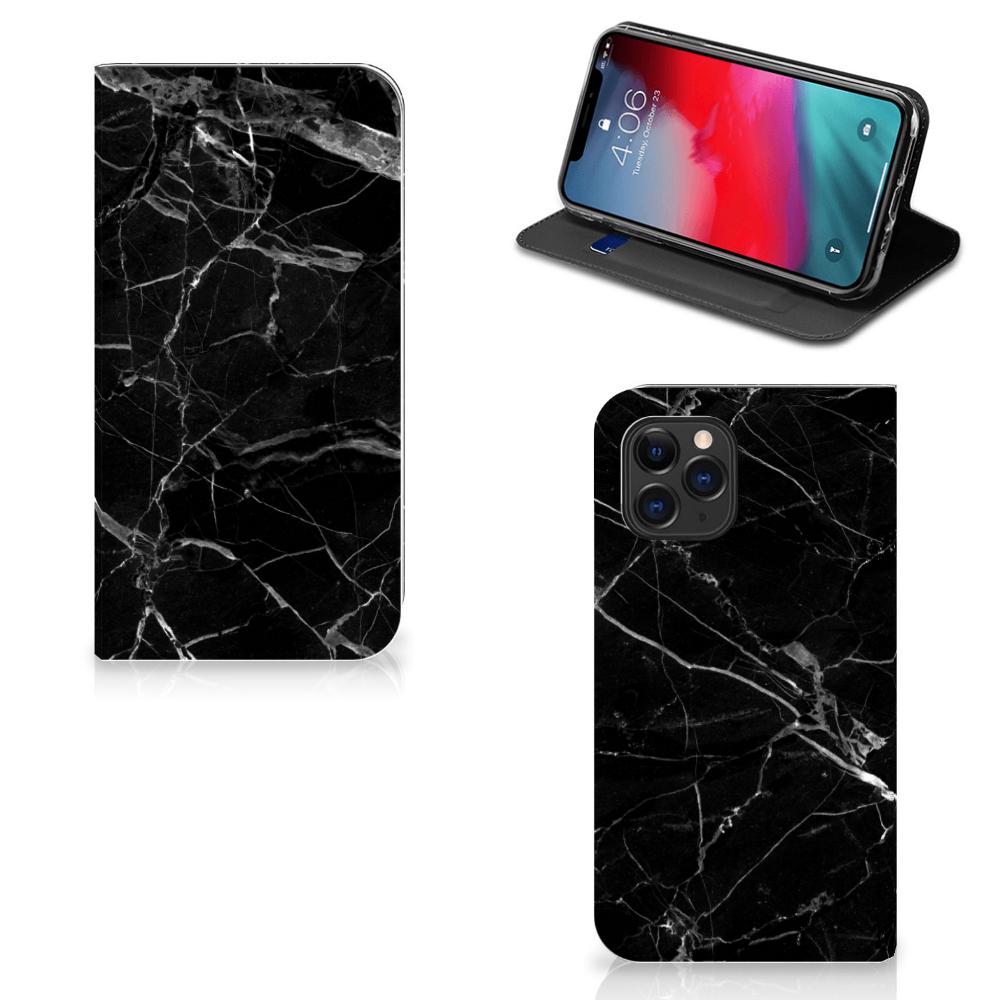 Apple iPhone 11 Pro Standcase Marmer Zwart