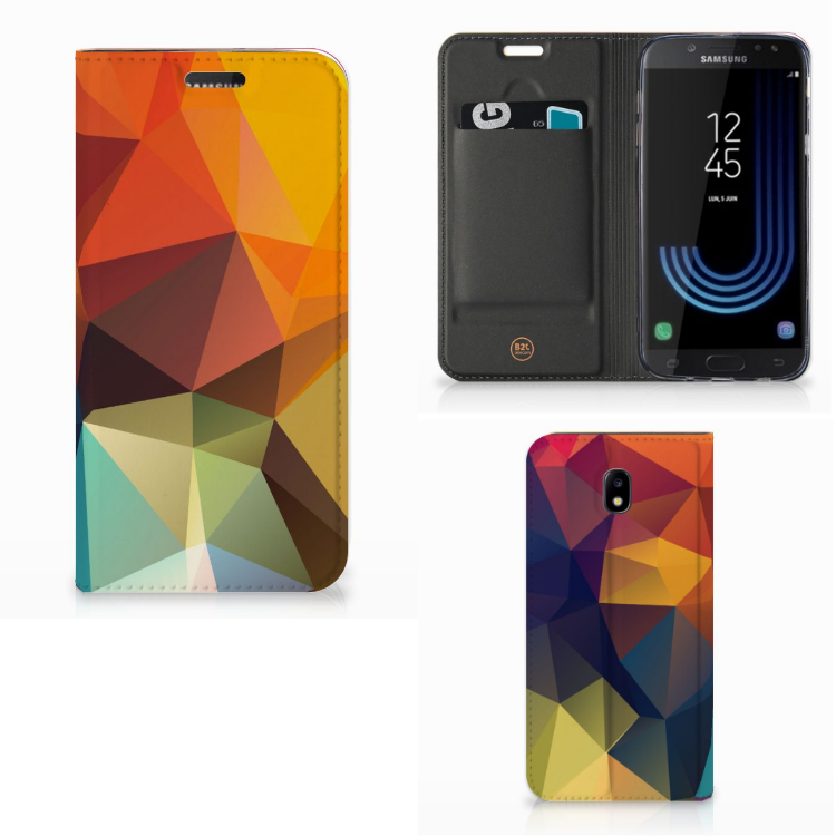 Samsung Galaxy J5 2017 Stand Case Polygon Color