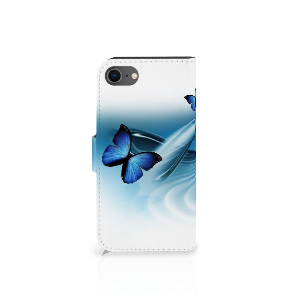 iPhone 7 | 8 | SE (2020) Telefoonhoesje met Pasjes Vlinders