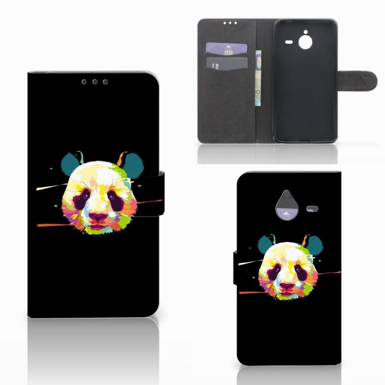 Microsoft Lumia 640 XL Leuke Hoesje Panda Color