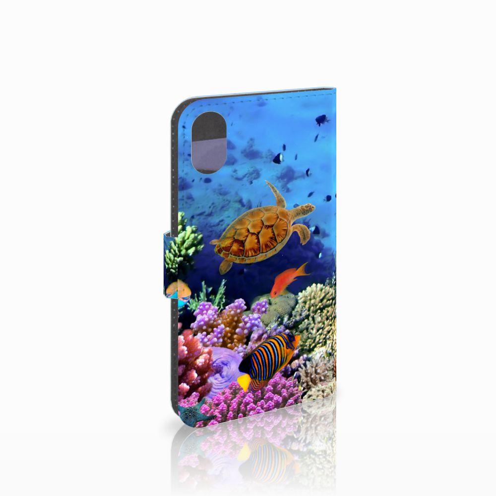 Apple iPhone X | Xs Telefoonhoesje met Pasjes Vissen