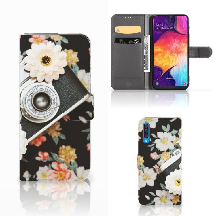 Samsung Galaxy A50 Telefoonhoesje met foto Vintage Camera