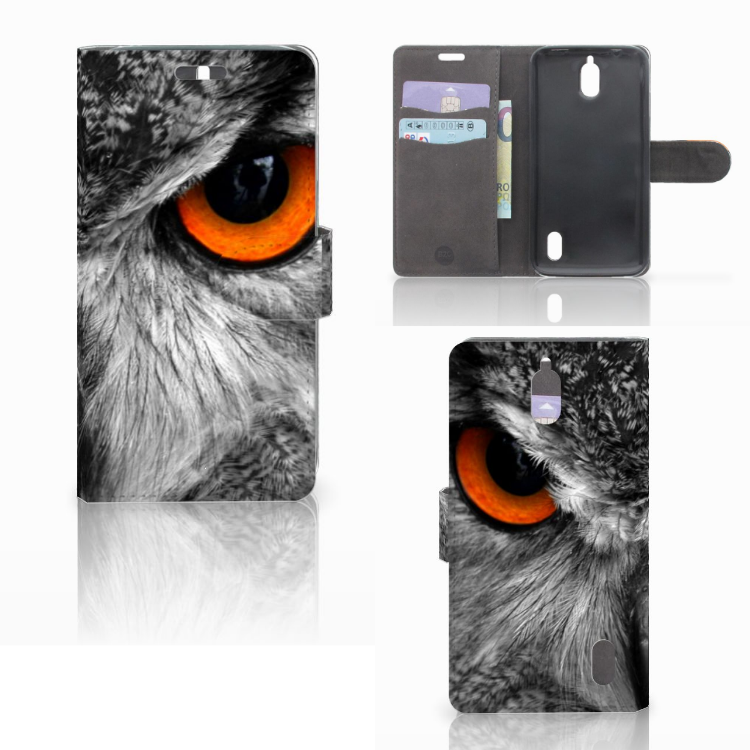 Huawei Y625 Telefoonhoesje met Pasjes Uil