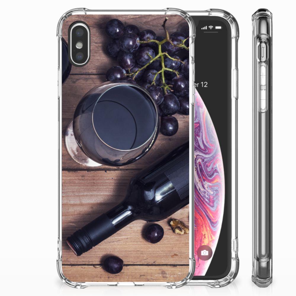 Apple iPhone Xs Max Beschermhoes Wijn
