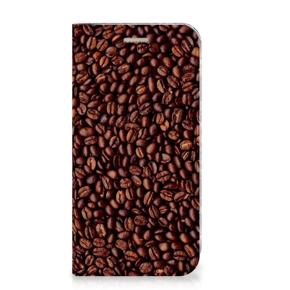 Samsung Galaxy A5 2017 Flip Style Cover Koffiebonen