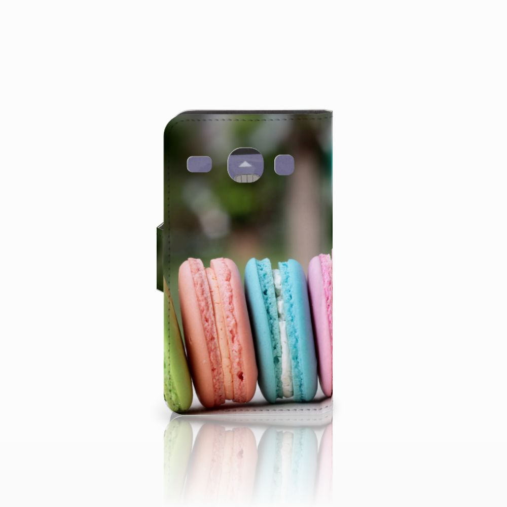 Samsung Galaxy Core i8260 Book Cover Macarons