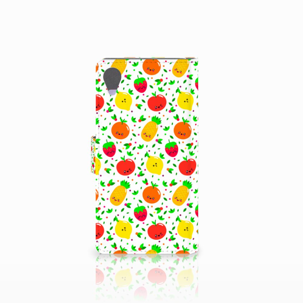 Sony Xperia X Performance Book Cover Fruits
