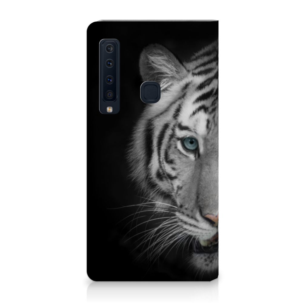 Samsung Galaxy A9 (2018) Uniek Standcase Hoesje Tijger