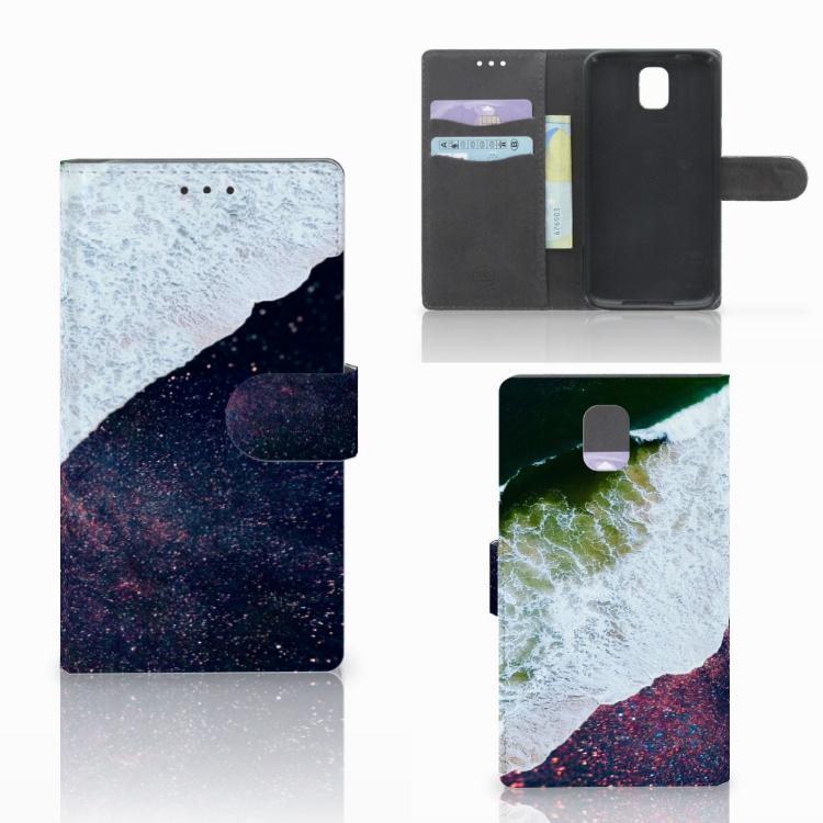 Samsung Galaxy Note 3 Bookcase Sea in Space