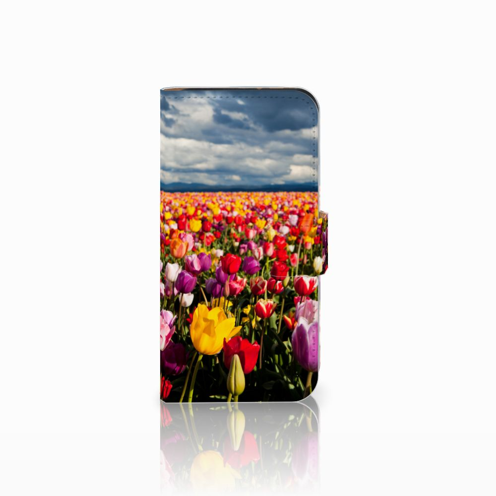 HTC One Mini 2 Uniek Boekhoesje Tulpen