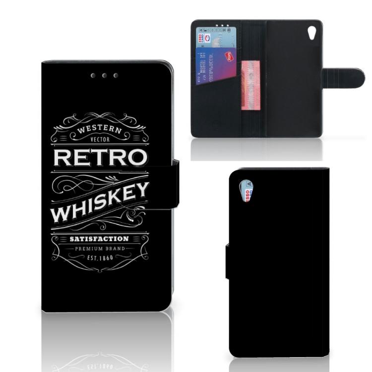 Sony Xperia Z3 Book Cover Whiskey