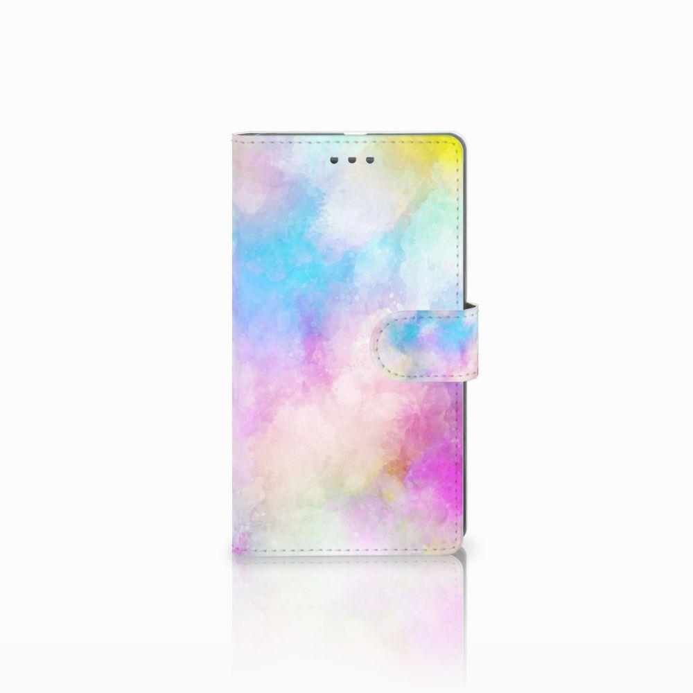 Microsoft Lumia 950 XL Uniek Boekhoesje Watercolor Light