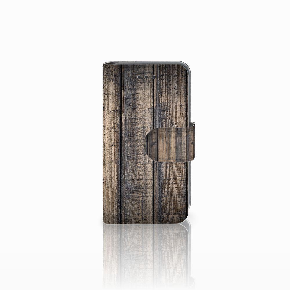 Nokia Lumia 530 Boekhoesje Design Steigerhout