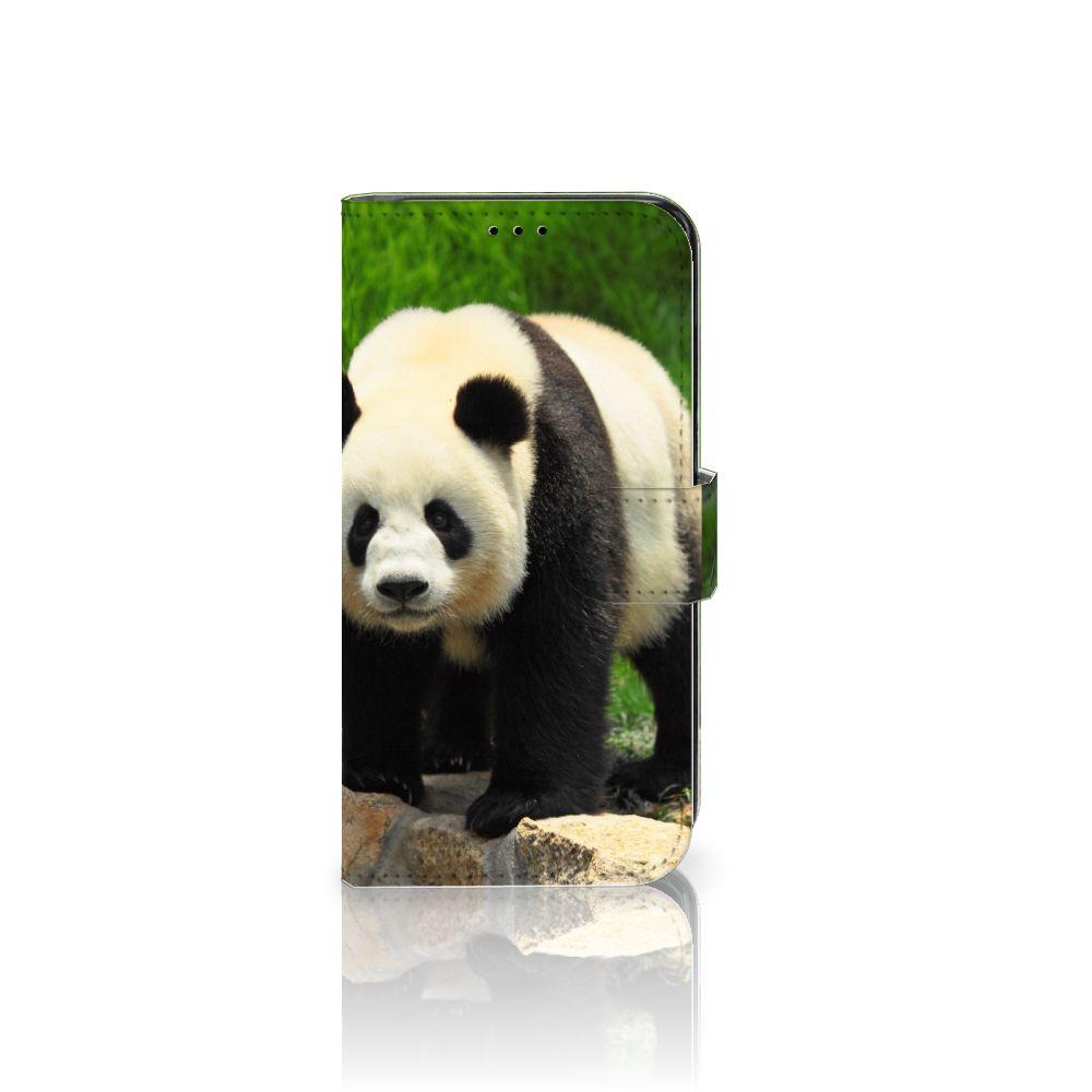Samsung Galaxy S7 Edge Telefoonhoesje met Pasjes Panda
