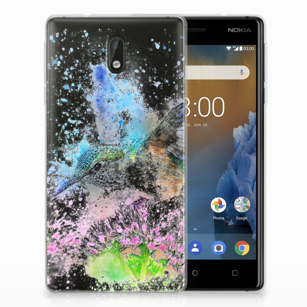 Nokia 3 TPU Hoesje Design Vogel