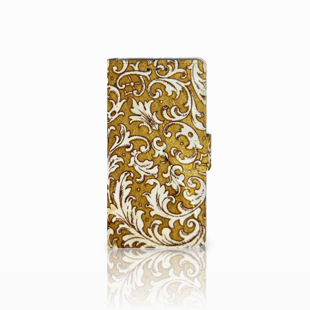 Wallet Case LG Bello 2 Barok Goud