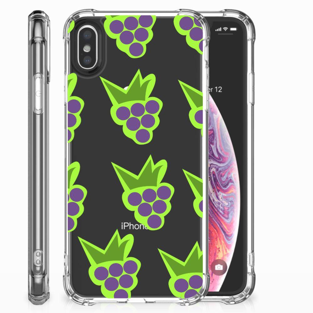 Apple iPhone X | Xs Beschermhoes Druiven