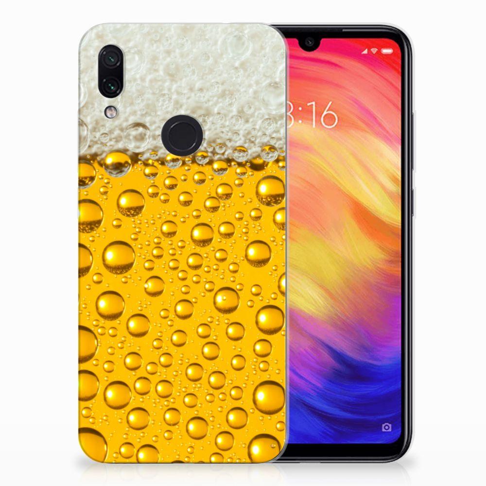Xiaomi Redmi Note 7 Siliconen Case Bier