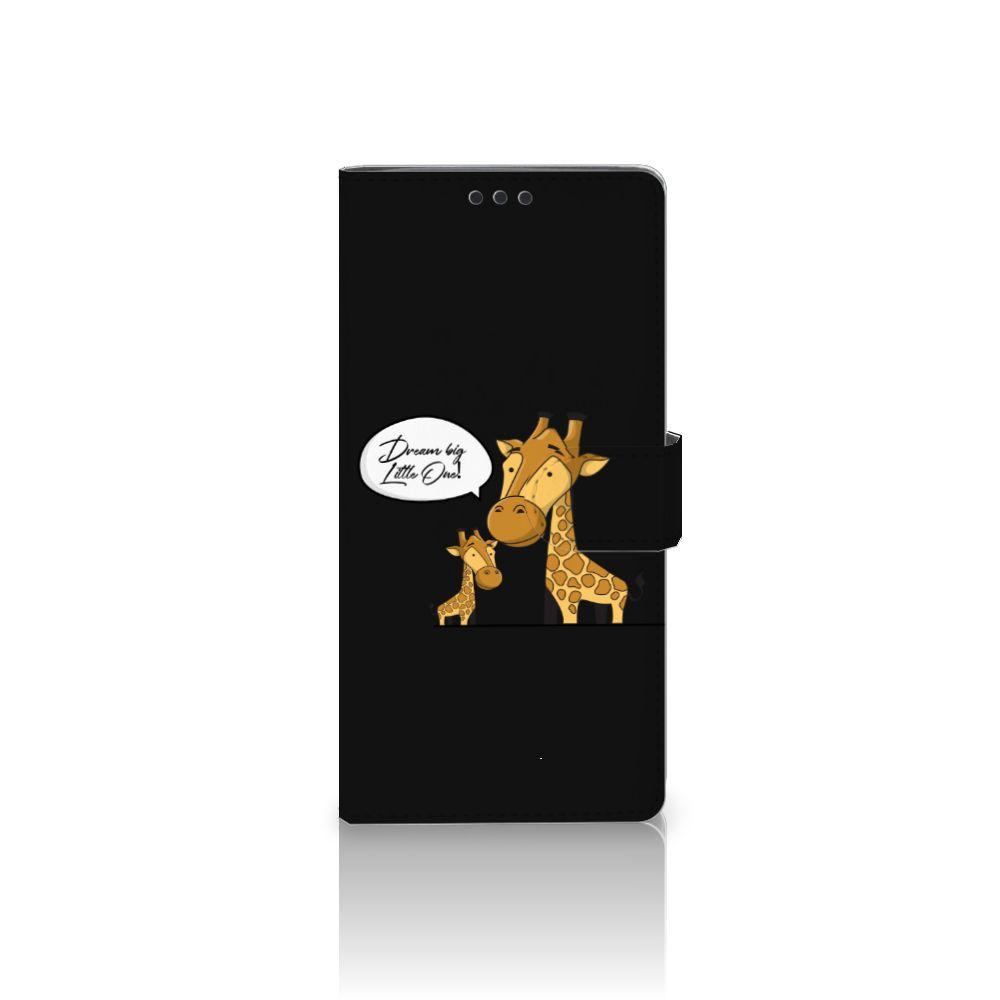 Sony Xperia XA Ultra Uniek Boekhoesje Giraffe