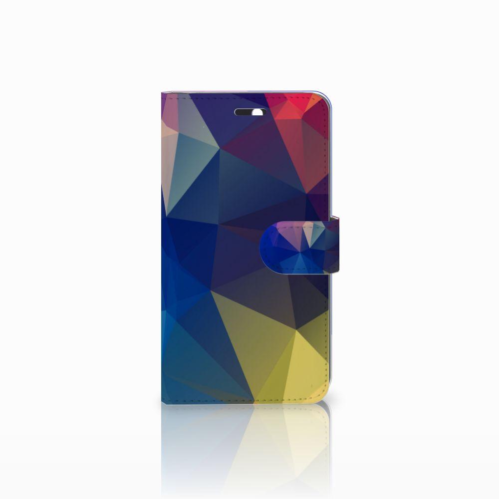 Huawei Y6 II | Honor 5A Bookcase Polygon Dark