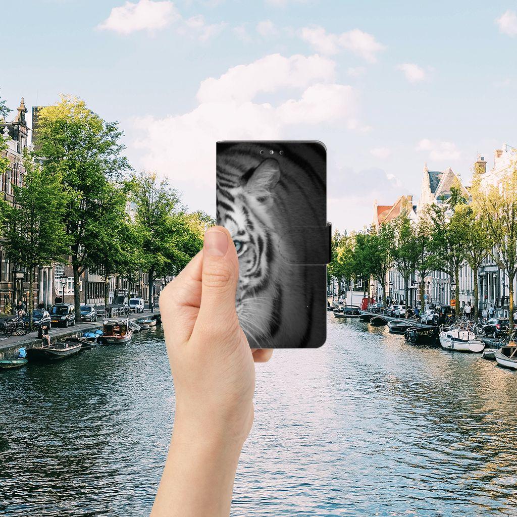 Huawei Y5 | Y6 2017 Uniek Boekhoesje Tijger