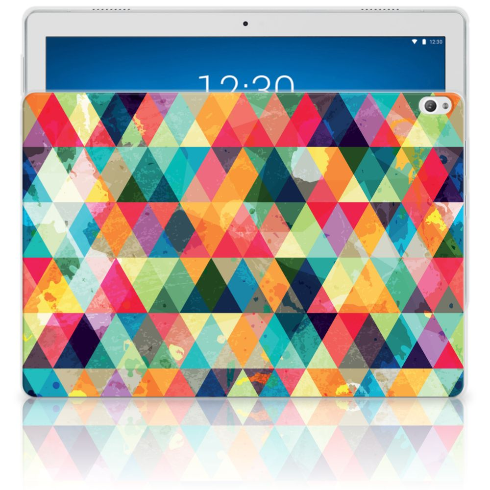 Lenovo Tab P10 Hippe Hoes Geruit