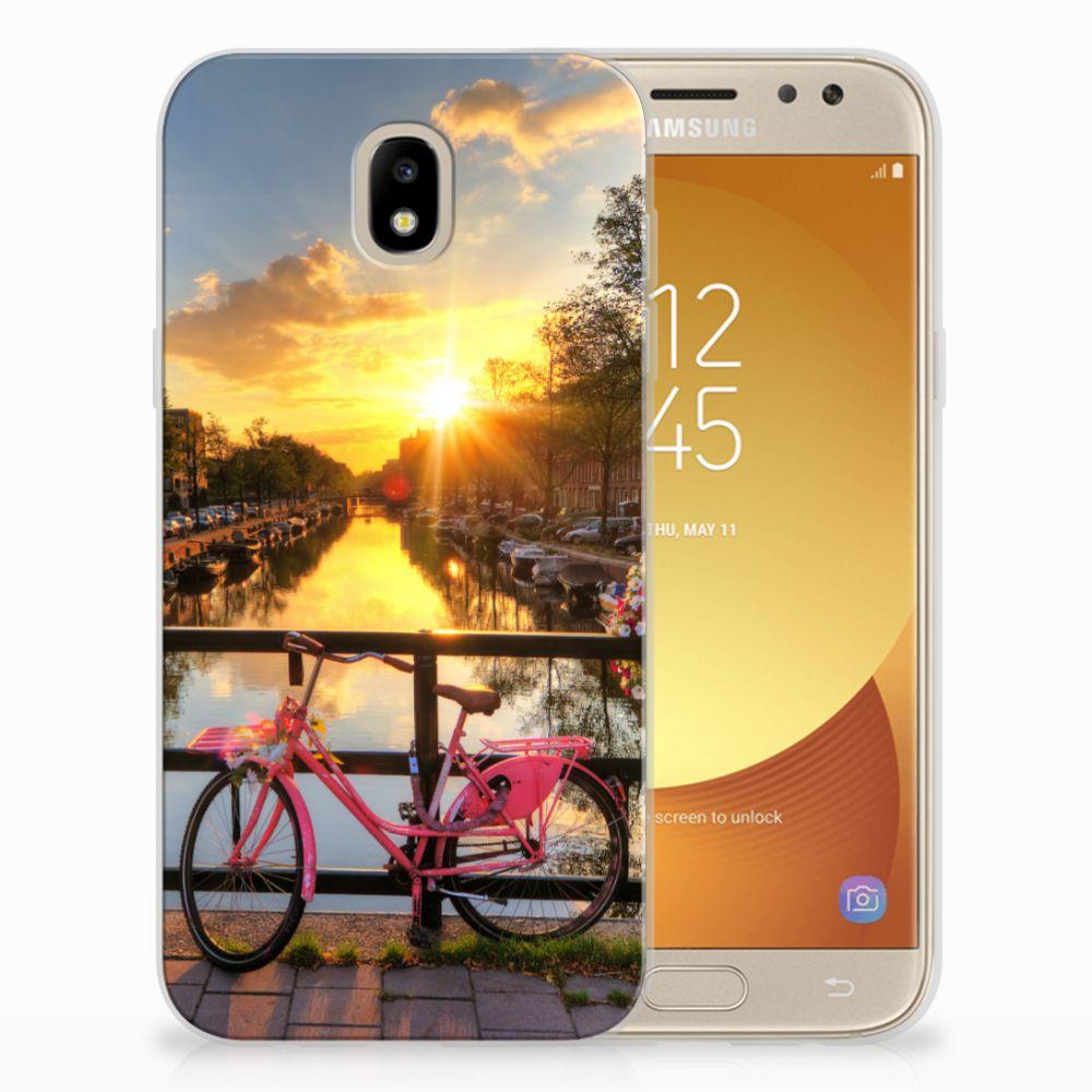 Samsung Galaxy J5 2017 Uniek TPU Hoesje Amsterdamse Grachten