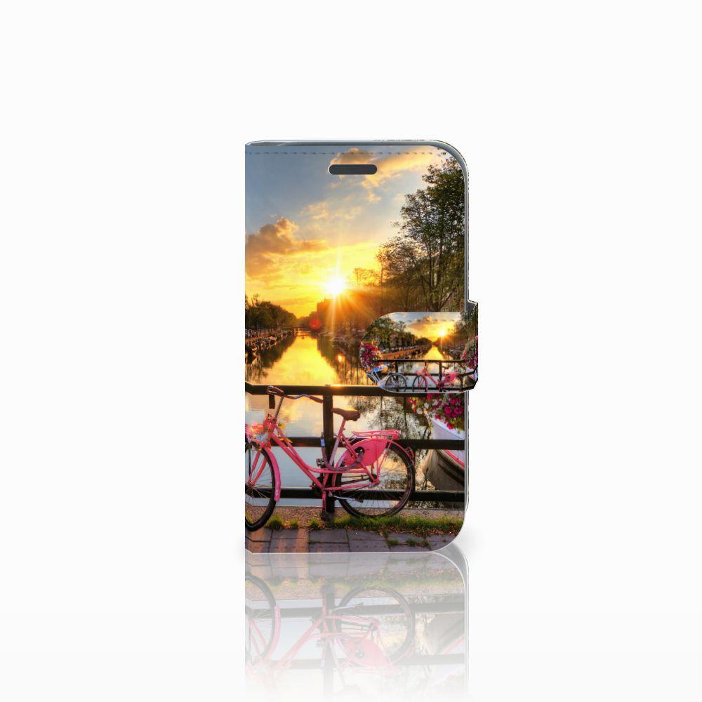Samsung Galaxy J1 2016 Uniek Boekhoesje Amsterdamse Grachten