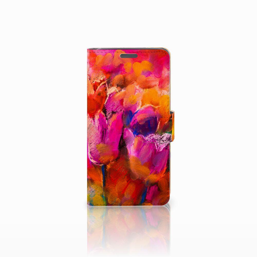 Wiko Lenny Boekhoesje Design Tulips