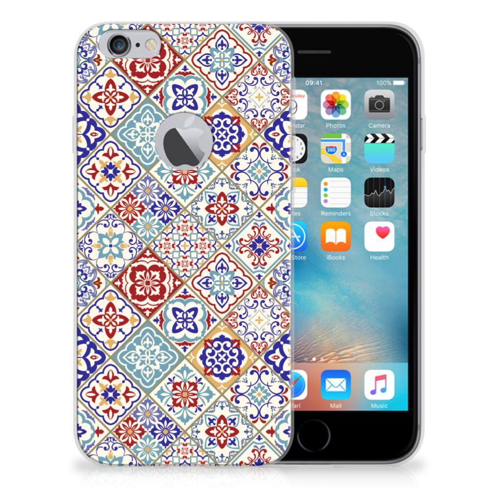 Apple iPhone 6 Plus | 6s Plus TPU Siliconen Hoesje Tiles Color
