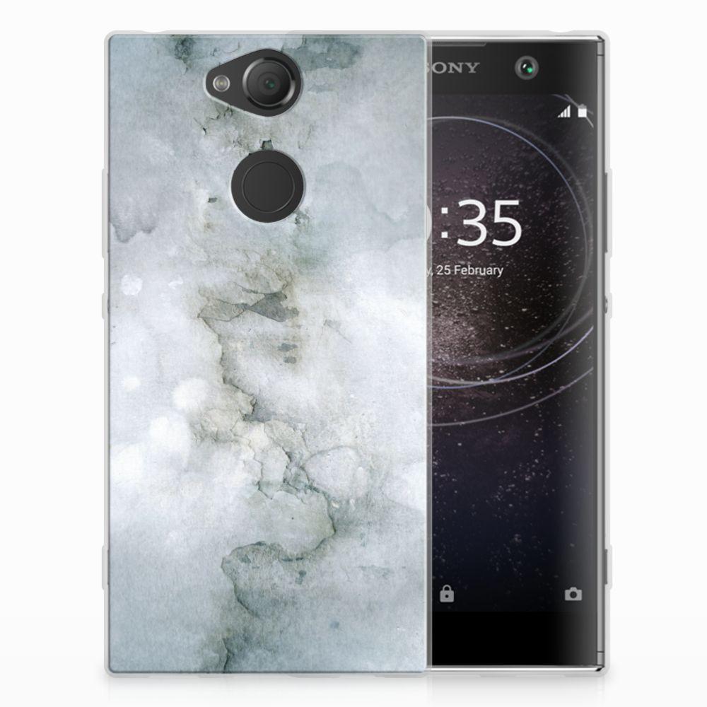 Hoesje maken Sony Xperia XA2 Painting Grey