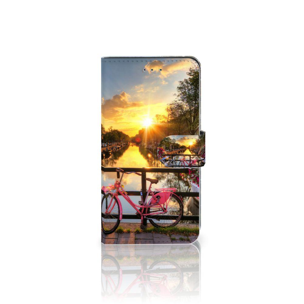 Samsung Galaxy J4 2018 Uniek Boekhoesje Amsterdamse Grachten