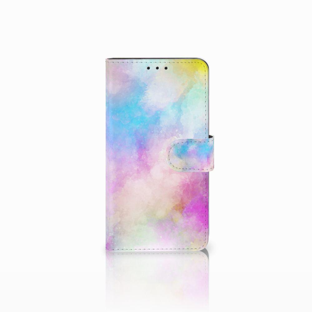Huawei Honor 6X Uniek Boekhoesje Watercolor Light