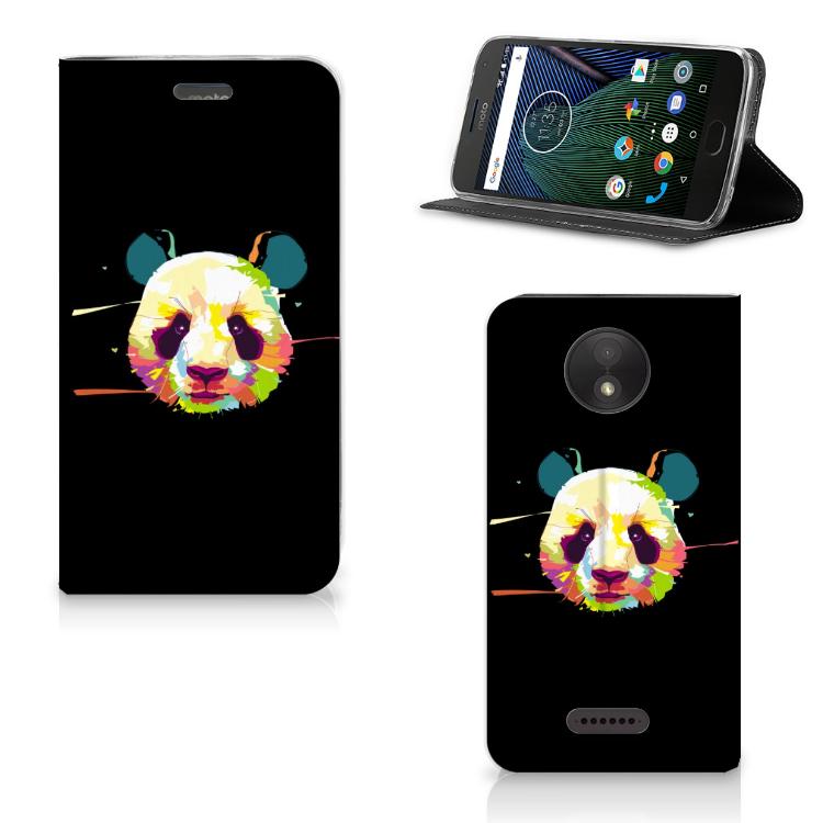 Motorola Moto C Plus Magnet Case Panda Color