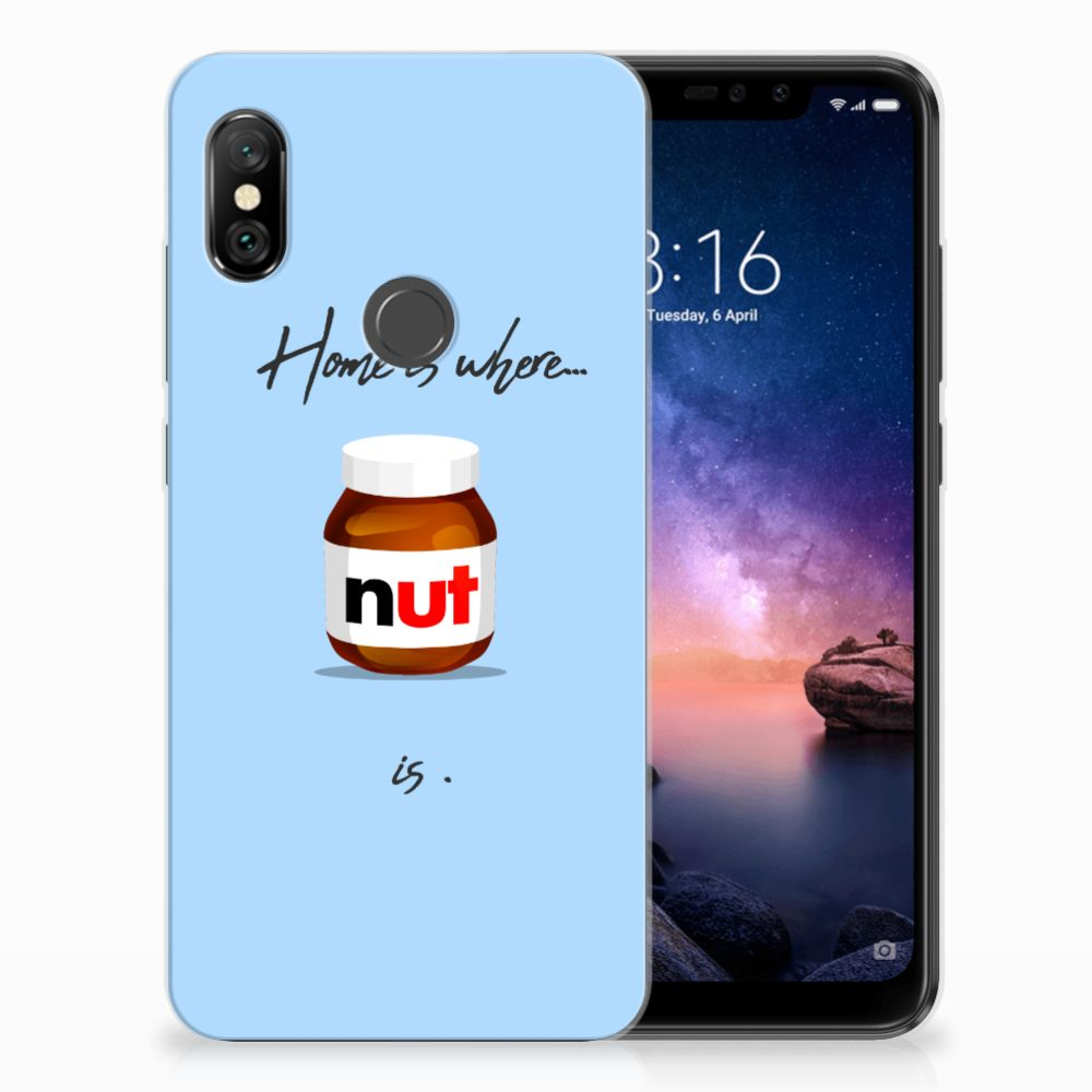 Xiaomi Redmi Note 6 Pro Siliconen Case Nut Home