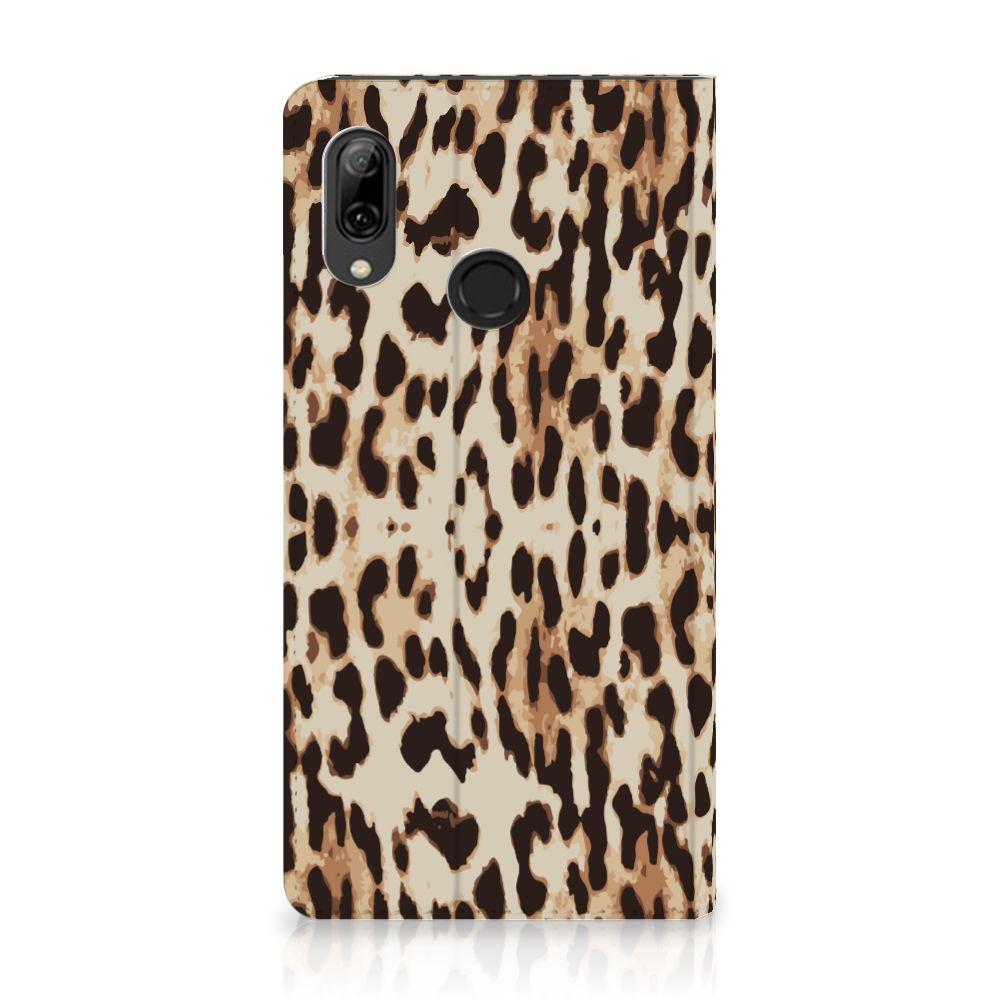 Huawei P Smart (2019) Uniek Standcase Hoesje Leopard