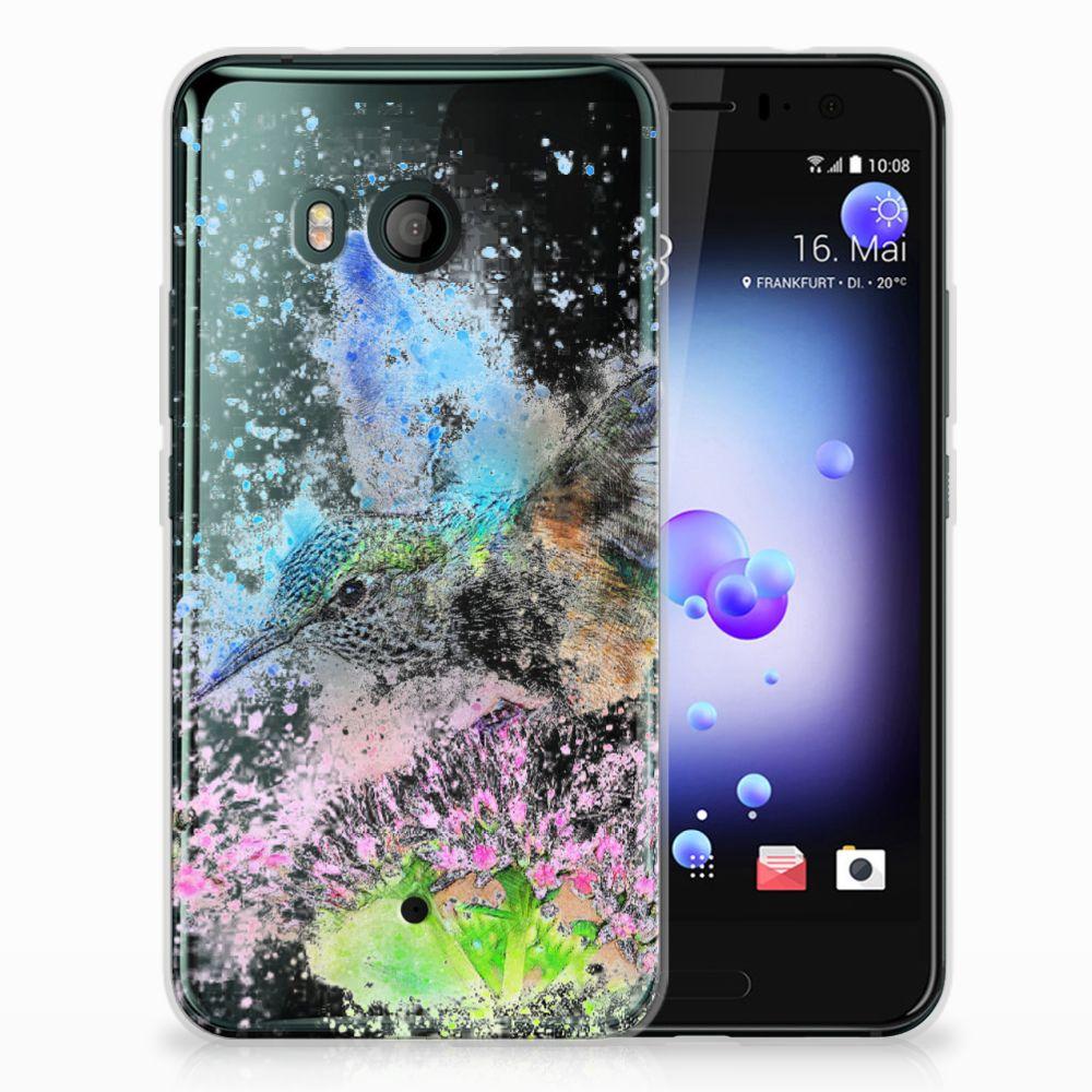 HTC U11 TPU Hoesje Design Vogel